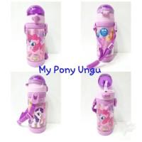 Botol Minum/Botol Minum Anak Sedotan sz 450ml/Bpa Free/My Pony Ungu