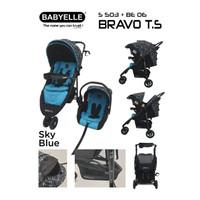 Babyelle S 503 Bravo Travel System / Stroller + Car Seat / Kereta Bayi