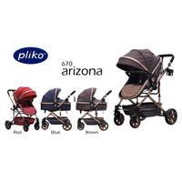 Pliko 670 Arizona / Stroller / Kereta Dorong Bayi