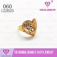 Cincin Love Lapis Emas Perhiasan imitasi Gold 18k Yaxiya Jewelry 060