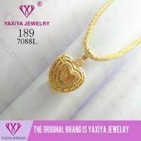 Liontin Love Perhiasan Lapis Emas Yaxiya Jewelry 189