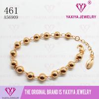 Gelang tangan Perhiasan imitasi Gold 18k Yaxiya Jewelry 461