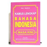 Kamus Lengkap Bahasa Indonesia Masa Kini - Budiono