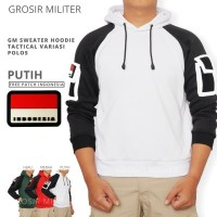 GM Sweater Hoodie Polos Tactical Variasi Free Patch
