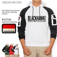 GM Sweater Hoodie Tactical Variasi Blackhawk Free Patch