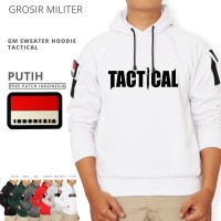 GM Sweater Hoodie Tactical 6 Warna Free Patch