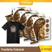 Bazzar Prosana Fastbite Sereal Bar Tinggi Serat (4 Box x 12 pcs)