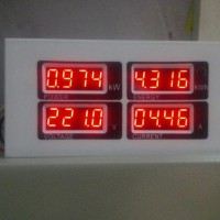 100A AC Digital LED Power Meter Monitor Voltage current KWh ENERGY Watt 220//110v