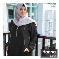 GAMIS DRESS IRNANDA HANNA SERIES BLACK