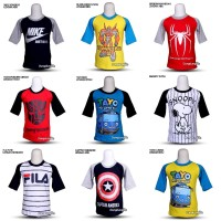 Kaos Anak Superhero / Kaos Anak Laki / Oshkosh