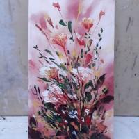 Jual Lukisan Bunga Ekspresif 03 Kota Palembang Luthfi Gallery Tokopedia