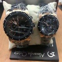 Jam tangan Alexander christie 6141 MC Couple
