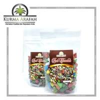 Coklat Arab Kerikil / Coklat Batu