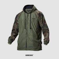 Numerus Alpha camouflage jacket / running / hoodie / army / streetwear