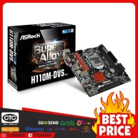 Motherboard Asrock H110M-DVS - LGA 1151 DDR4 - Mainboard Intel