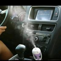 Car Humidifier Namun Pelembab Mobil Aromatherapy Car Plug Air Humidifi