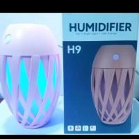 Aromatherapy Air USB Humidifier Diffuser LampuTidur AromaTerapi H9 Lim