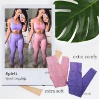 SPIRIT seamless legging fitness / gym celana olahraga wanita