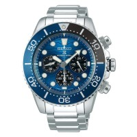 Seiko Solar SSC741P1 Great White Shark SSC741 Save The Ocean