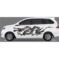 Stiker Mobil Cutting Naga Stiker Keren r74