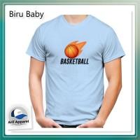 Kaos Basket Ball - Kaos Pria (RedMango)