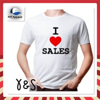 Kaos I Love Sales - Yarn & Spindle (PUTIH)