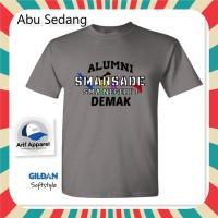 Kaos Alumni SMA 1 DEMAK - Kaos Pria (Gildan Softstyle)