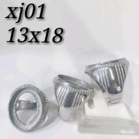 ikatan cincin titanium tanam diameter 15x20 ring polos