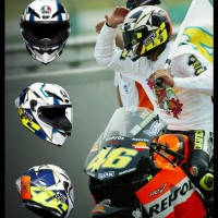 AGV Pista GPRR Rossi 2003 World Title - Limited Edition