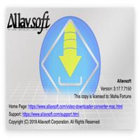 Allavsoft for Mac Version 3.17 Original Lifetime Update