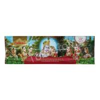 Dupa India (Aromaterapi) Pouch Plastic - Tulasi Brindavana 35 Sticks