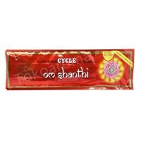 Dupa India (Aromaterapi) Pouch Plastic - Cycle Om Shanti 35 sticks