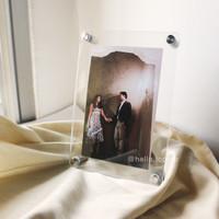 Acrylic Frame A5 / Frame Akrilik Standing / Poster / Frame Foto