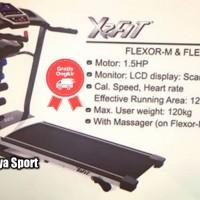 Treadmill Elektrik 3 in 1 X2FIT FLEXOR M Original - Garansi Resmi