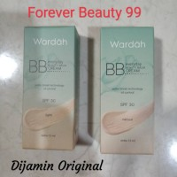Wardah alas bedak luminous Everyday BB Cream Light Natural - SPF 30 -