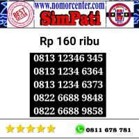 Nomer Cantik Simpati seri dauble abcd-1234 0813 1234 6364 oN 227