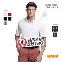 POLO SHIRT POLOS SIZE (XL) hikari laconte cotton