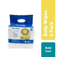 Dr.Brown's Baby Wipes, 4-Pack x 25's