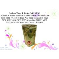 Serbuk Toner P Series Gold HP CAN0N Monochrome Laserjet Printer