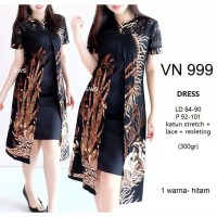 Dress Batik Kerja Wanita Baju Kerja Batik Dress Kerja Batik Wanita Nia