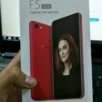 oppo f5 Ram 6gb limited garansi resmi oppo Indonesia