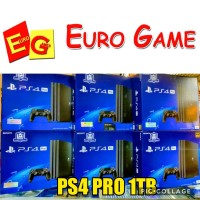 PS4 PRO 1TB JETBLACK / PLAYSTATION 4 PRO JETBLACK 1TB