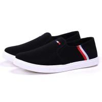 Sepatu Slip On Pria - 43 - Hitam