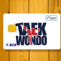 Kartu flazz BCA Taekwondo