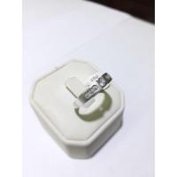 Cincin emas putih kadar 750 berat 4 gram size 19 dan 20. White gold