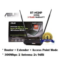 ASUS Router RT-N12HP 300Mbps