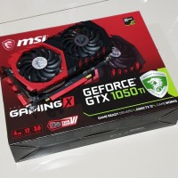 VGA / GPU MSI 1050Ti / 1050Ti Gaming X 4Gb
