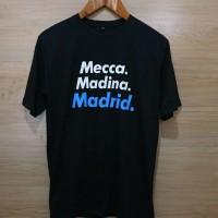 Kaos / Baju / Tshirt REAL MADIRD MECCA MADINA