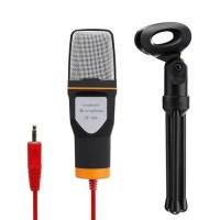 MIC / MIKROFON DENGAN PORT 3.5mm UNTUK CHAT, NYANYI, GAMING, VIDEO, DL