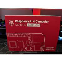 Raspberry Pi 4 Model B Ram 4gb 4 Gb RPI4-MODBP-4GB Segel Ready Stock!